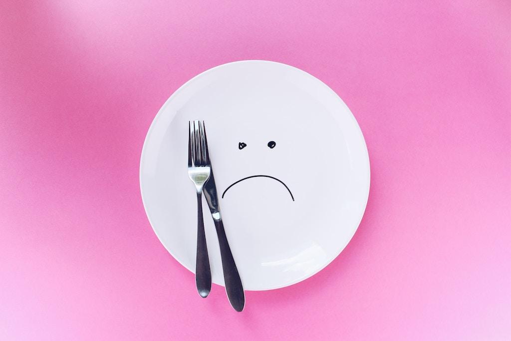 Θλιμμένο πιάτο