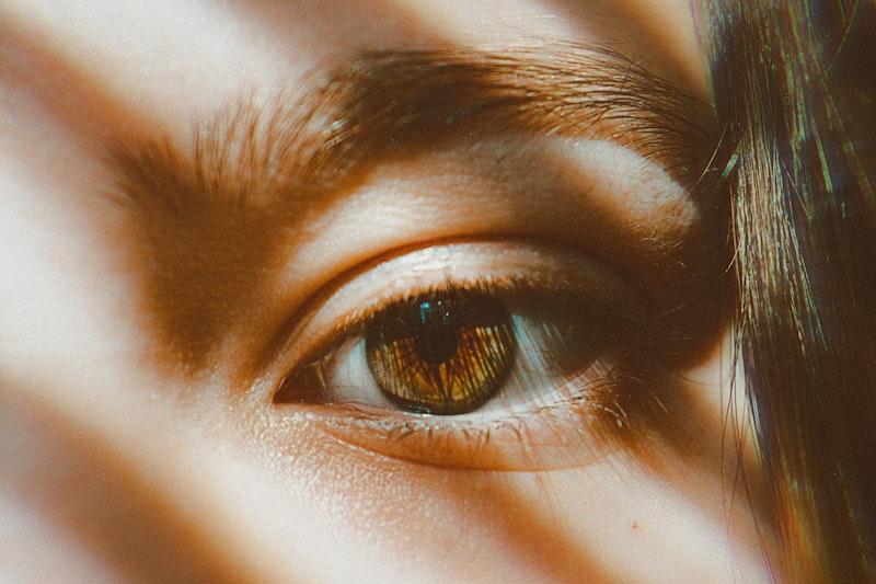 καστανό μάτι